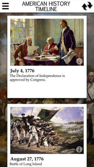 American History Interactive Timeline Full Version