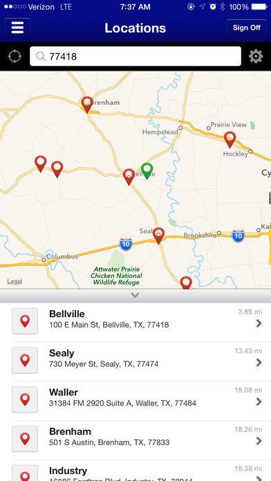FNB Mobile iPhone Screenshot 4