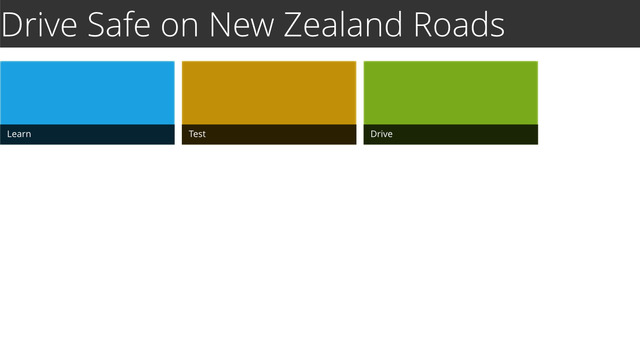 SafeDriver - The App to Keep Foreign Drivers Safe on New Zealand Roads