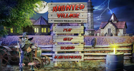 Haunted Village - Free Hidden Object Games