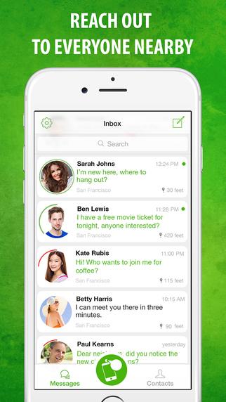 【免費生活App】Spray - Message everyone nearby!-APP點子