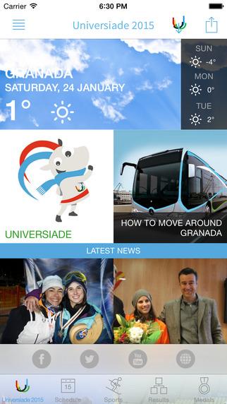Granada Winter Universiade 2015