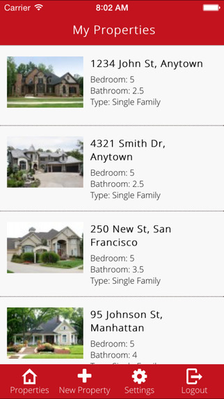 AM Open House - Simple and Efficient App for Open Houses