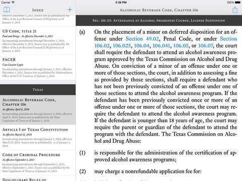 TCDLA - Texas Criminal Defense Lawyers Association iPad Screenshot 1