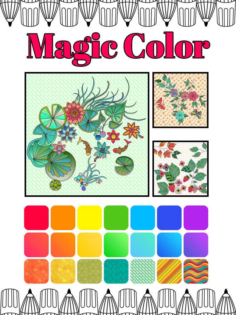 App Shopper Recolor Adult Coloring Book