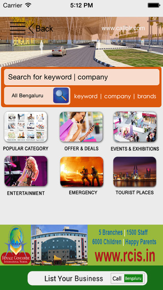 Call Bengaluru Offline Business Directory