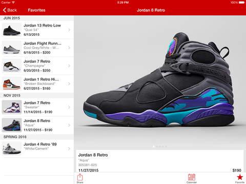 Jordan release date app in Australia
