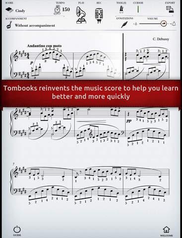 Play Debussy – Arabesque No. 1 interactive piano sheet music