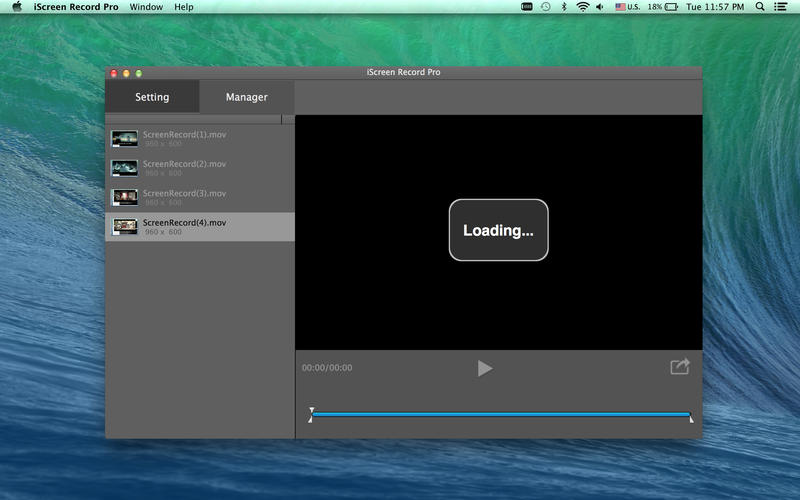 iScreen Record Pro for Mac