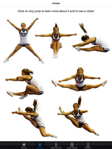 Cheerleading Stunts, Tosses, and Jumps! on the App Store