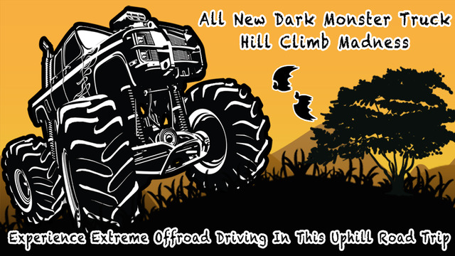 All New Dark Monster Truck Hill Climb Madness - Experience Extreme Offroad Driving In This Uphill Ro