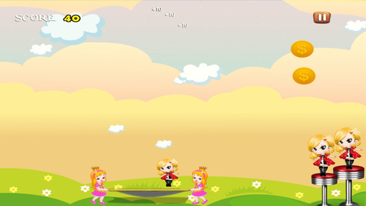 Little Girls Cupcake Hop Game - A Lite Jumping Dash