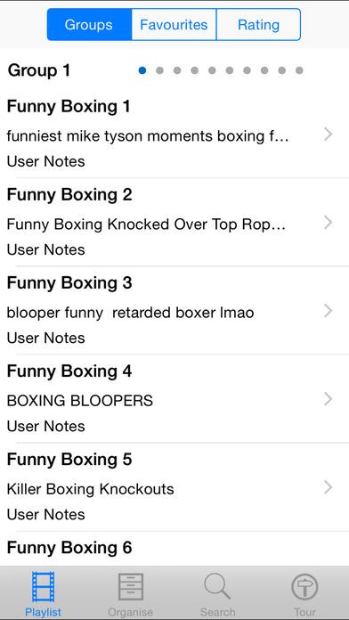 Funny Boxing Moments iPhone Screenshot 2