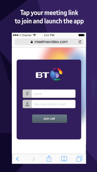 BT MeetMe Video