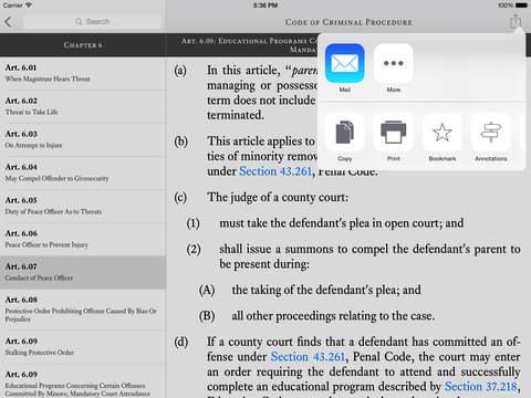 TCDLA - Texas Criminal Defense Lawyers Association iPad Screenshot 3