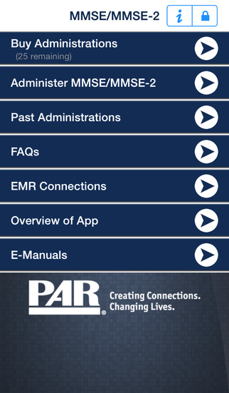 MMSE MMSE-2 Administration and Scoring App