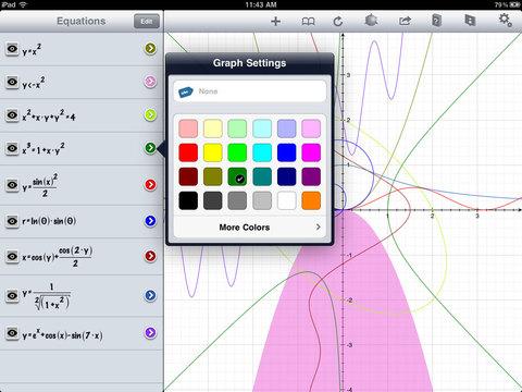 Captura de pantalla del iPad 2