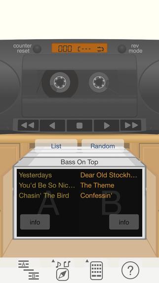 SilentBonusTrack - cassette player