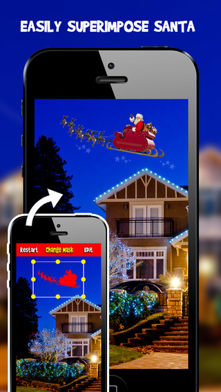 Snap Santa Editor Booth 2014 - Easily Create Fun Photo Proof Father Christmas is Real