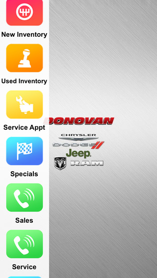 Donovan Dodge Dealer App