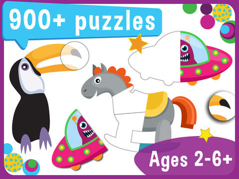 Pooza - FREE Brain Training Puzzles for Toddlers and Preschoolers