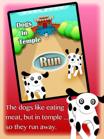 Make Three Dogs From Temple Jump 2015