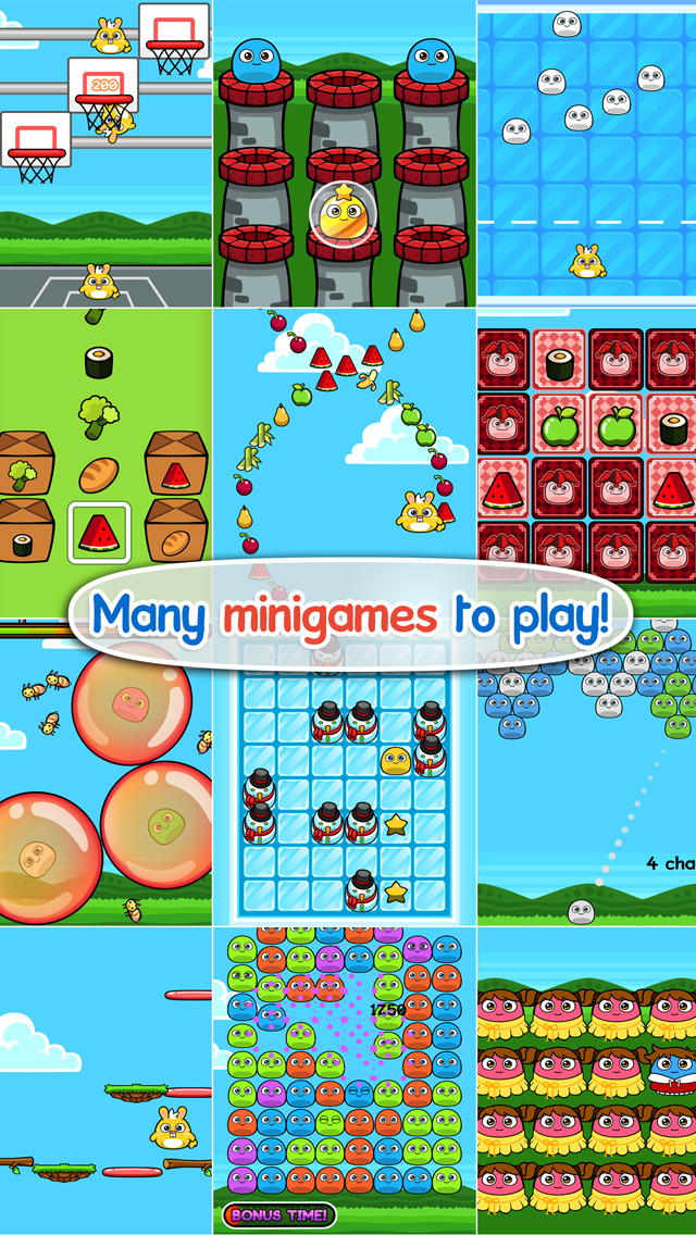 My Boo – Virtual Pet with Mini Games for Kids, Boys and Girls
