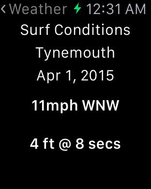 Surfing in Tynemouth iPhone Screenshot 9