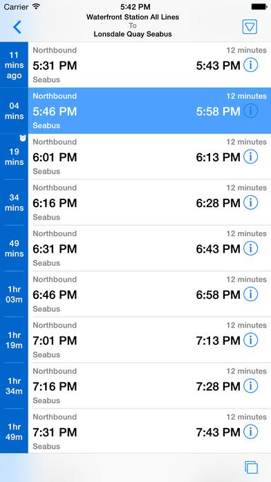 Go Vancouver iPhone Screenshot 1