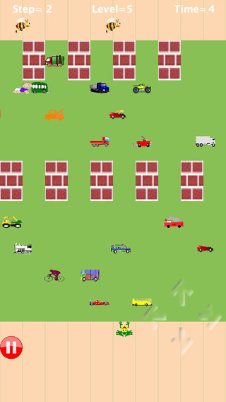 玩免費遊戲APP|下載Frog cross the road@free game app不用錢|硬是要APP