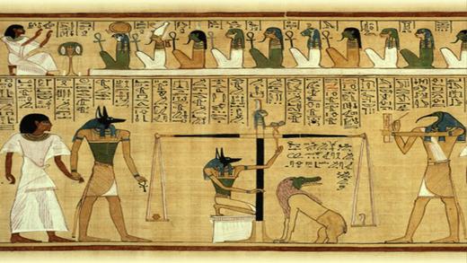 Египетскии Сенет (игра Древнего Египета) Анубис приглашает вас играть за фараон Тутанхамон (король Тут) или царицу Нефертити в могила Screenshot
