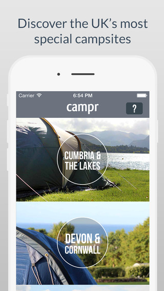 Campr Beautiful Camping