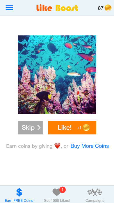 Screenshots of Like Boost - Get more Instagram likes & followers for iPhone