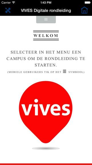VIVES Digital tour