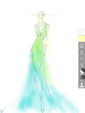 服装设计:晚礼服 - iphone/ipad