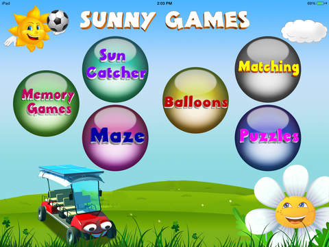 Sunny Games for iPad