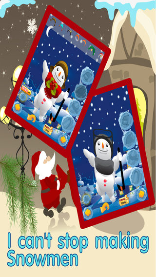 Snowman Dress Up Maker -Decorate Santa 's Christmas Town with Frosty and Friends FREE