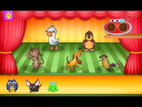 123 Kids Fun ANIMALS BAND - Educational Music Game for Toddlers and Preschoolers Screenshots