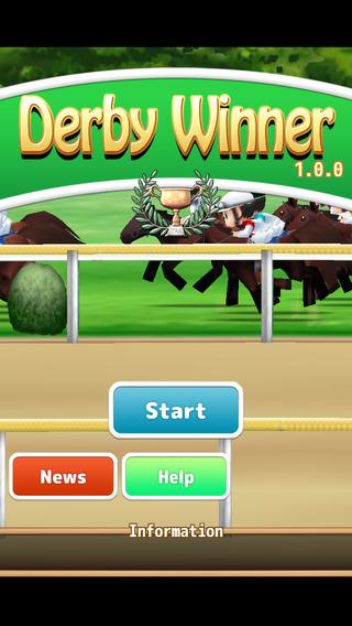 Horse racing token DerbyWinner
