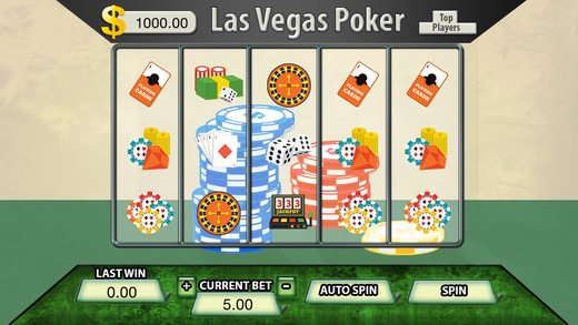 Las Vegas Poker Slots - FREE Las Vegas Casino Spin for Win