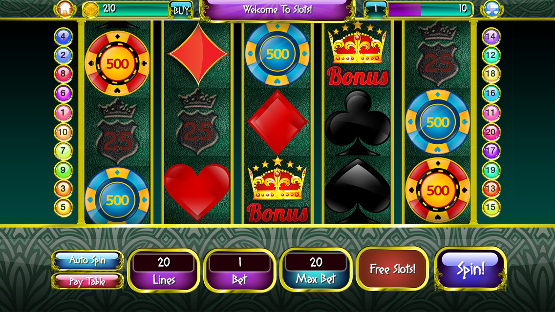 Free slot machine games for iphone