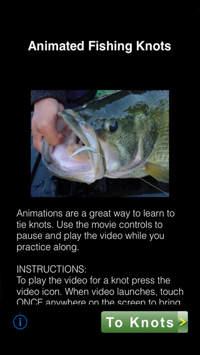 Animated Fishing Knots iPhone Screenshot 1