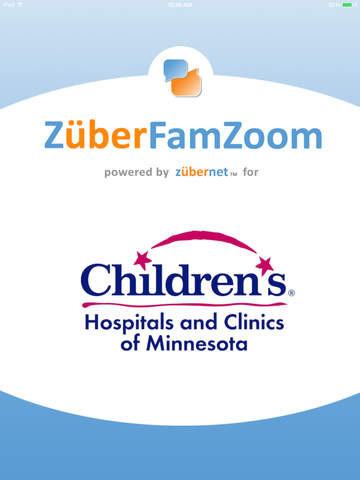 ZuberFamZoom for Children's Hospitals and Clinics of Minnesota