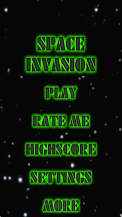 Space Invasion Lite iPhone Screenshot 1
