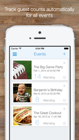 Invitd - Invitations RSVP Tracking for Events by Text