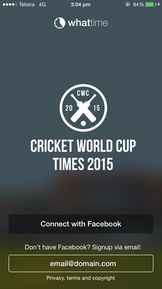 WhatTime - cricket schedule and scores 2015