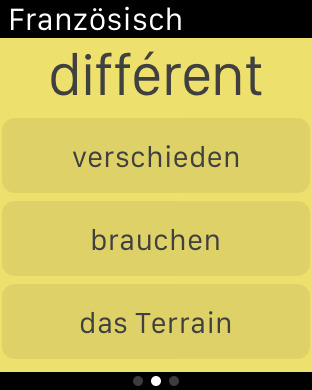 Vocabulary Trainer: German - French iPhone Screenshot 9
