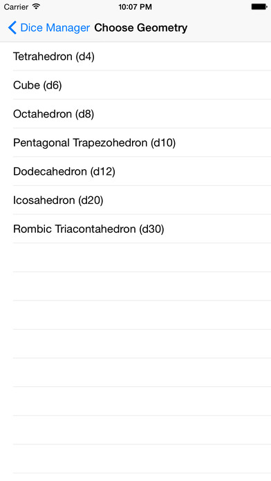 Dice Studio iPhone Screenshot 1