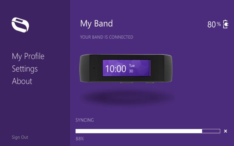 Microsoft Band Sync Screenshot - 3