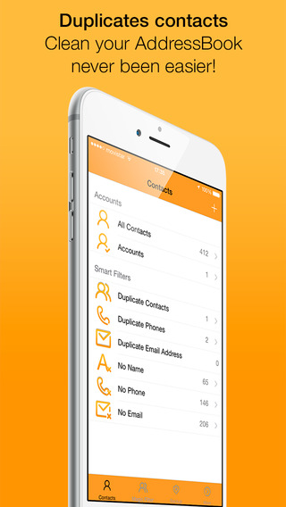 Clean Contacts Pro - Cleans and removes duplicate contacts in your Contacts Book